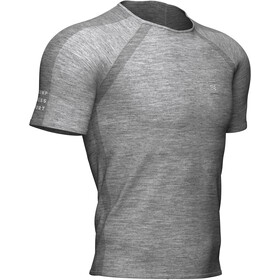 Compressport SS Training T-Shirt Men, grey/melange